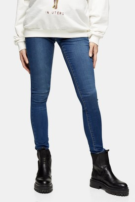 Topshop Womens **Maternity Indigo Leigh Skinny Jeans - Indigo