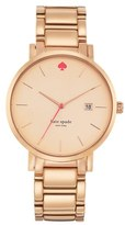 Kate Spade 'gramercy Grand' Bracelet Watch, 38mm