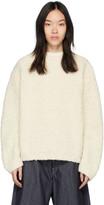 LAUREN MANOOGIAN Off-White Astrakhan Sweater