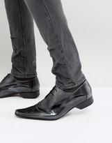 Jeffery West Pino Silver Derby Shoes