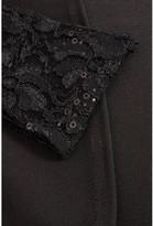 Bardot Quiz Curve Lace Knot Front Maxi Dress - Black