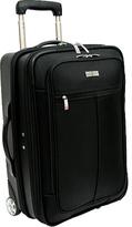 "Traveler's Choice Siena 21"" Hybrid Hard-Shell Rolling Garment Bag/Up"