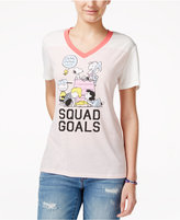 Hybrid Peanuts Juniors' Squad Goals Graphic T-Shirt