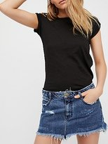 Free People Cute To Boot Mini Skirt