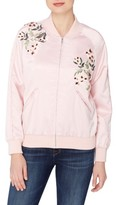 Catherine Malandrino Women's Jimmie Embroidered Bomber Jacket