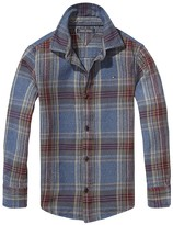 Tommy Hilfiger Th Kids Heavy Twill Check Shirt