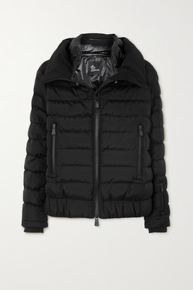 MONCLER GRENOBLE Vonne Quilted Shell Down Jacket - Black