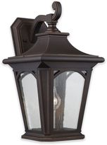 Quoizel Bedford Outdoor Medium Wall Lantern in Mystic Black