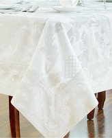 "Waterford Damascus 70"" x 84"" Tablecloth"