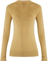 Lemaire Long-sleeved wool and silk-blend sweater