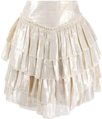 Alice McCall high-waisted tiered skirt