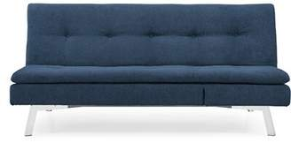 "Sealy Sofa Convertibles Kelly Full 79.1"" Tufted Back Convertible Sofa Sofa Convertibles Color: Blue"