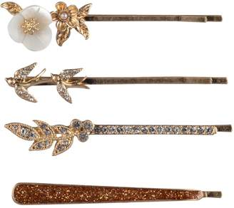 lonna & lilly Tower Goldtone, Crystal Faux Pearl Hair Bobby Pins