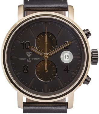 Tschuy-Vogt Men's Leather Watch