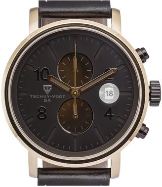 Tschuy Vogt Tschuy-Vogt Men's Leather Watch