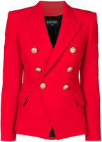 Balmain double breasted blazer - women - Cotton/Viscose - 36