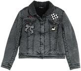 Little Marc Jacobs Denim & Faux Shearling Jacket
