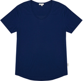 Onia Joey Blue Supima Cotton Slim-Fit Jersey T-Shirt