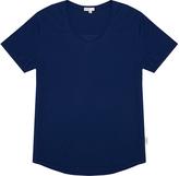 Onia Joey Blue Supima Cotton Slim-Fit Jersey T-Shirt