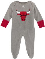 adidas Baby Chicago Bulls Footed Bodysuit