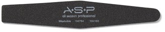 ASP Extra Heavy Black Angle Board Nail File 100/180
