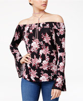Ultra Flirt Juniors' Off-The-Shoulder Top