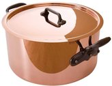 Mauviel M'250C Stewpan with Lid with Cast Iron Handles - Copper - 6.4 QT