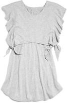 Splendid Girls' Flutter Sleeve Popover Dress