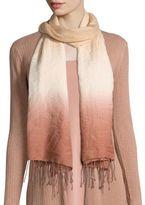 Eileen Fisher Wool & Silk Ombre Scarf