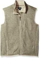 Smith's Workwear Men's Full Zip Sweater Fleece Vest