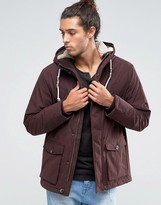 Esprit Parka With Borg Lined Hood