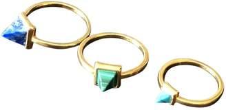 Eddie Borgo Gold Metal Rings