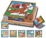 MELISSA & DOUG 16 Piece Wooden Pets Cube Puzzle