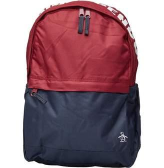 Original Penguin Boys Backpack Biking Red