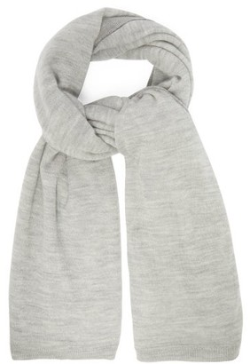 Raey Superfine Cashmere Scarf - Womens - Charcoal