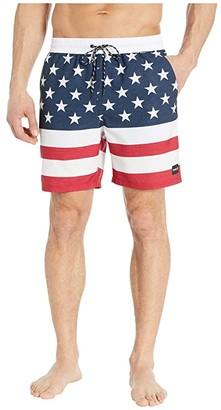 Hurley 18 Patriot Volley (Black) Men's Swimwear
