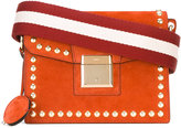 Bally stud detail shoulder bag - women - Calf Suede - One Size