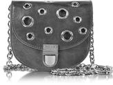 McQ by Alexander McQueen Dark Gray Leather Medium Coin Purse
