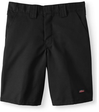 Dickies Genuine Boys School Uniform Shorts with Multi Use Pocket, Sizes 4-18