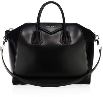 Givenchy Medium Antigona Glazed Leather Satchel