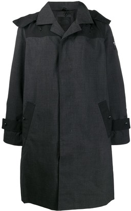 The North Face Hooded Button-Up Raincoat