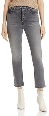 Mother The Tomcat Cropped Ankle Jeans