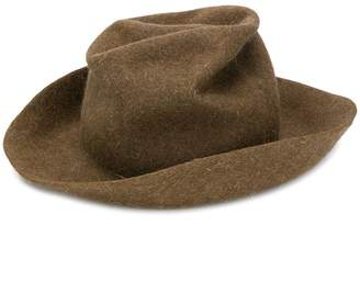 Horisaki Design & Handel crushed felt hat
