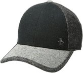 Original Penguin Men's Melton Wool and Tweed Baseball Cap