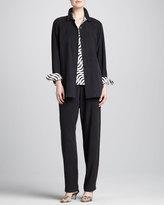 Go Silk Straight-Leg Pants