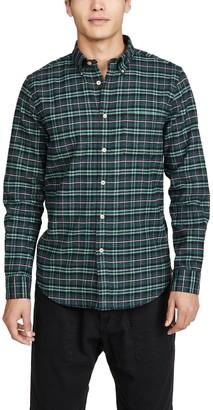 Portuguese Flannel Future Plaid Flannel Button Down Shirt