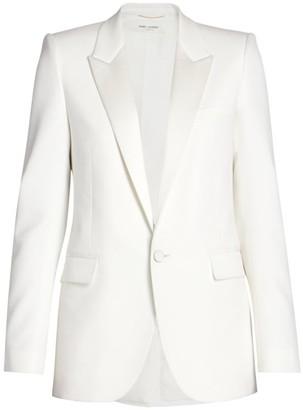 Saint Laurent Single-Button Wool Jacket