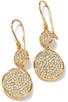 Ippolita Stardust 18K Diamond Snowman Earrings