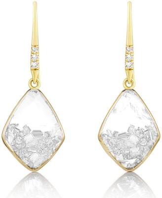 Moritz Glik Baby Kite Diamond Shaker Earrings