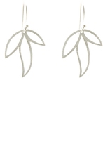 Sikara & Co. Three Leaf Earrings